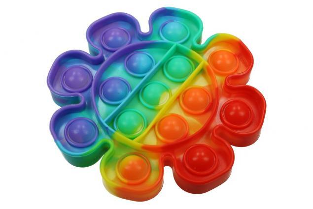 Foto 2 - Antistresová hračka POP IT kytka