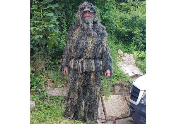 Foto 2 - Maskovací oblek Ghillie suit