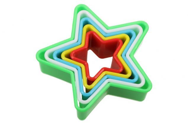 Foto 2 - Vykrajovátka 5ks hvězdy
