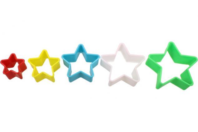 Foto 3 - Vykrajovátka 5ks hvězdy