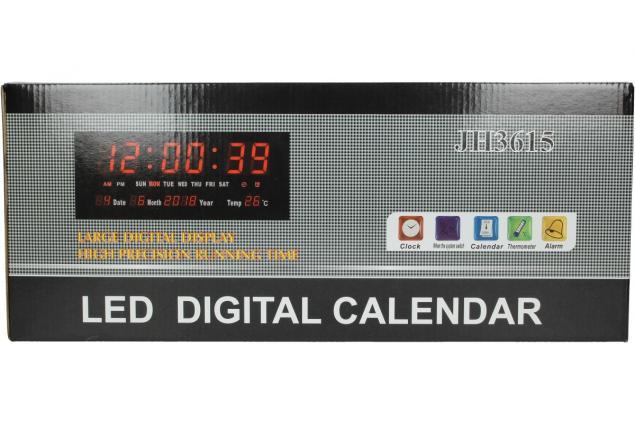 Foto 8 - LED digitální hodiny JH3615