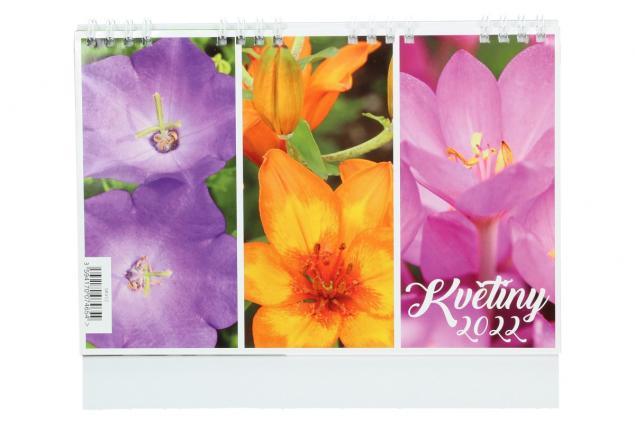 Foto 2 - Kalendář 2022 Květiny 22 x 18 cm