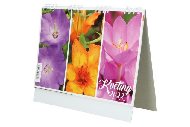 Foto 4 - Kalendář 2022 Květiny 22 x 18 cm