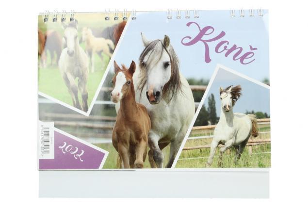 Foto 2 -  Kalendář 2022 Koně 22 x 18 cm