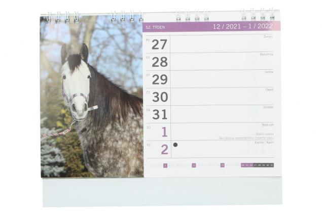 Foto 3 -  Kalendář 2022 Koně 22 x 18 cm