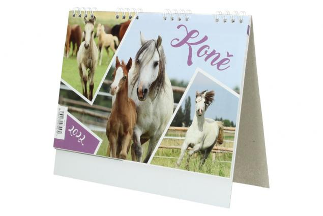Foto 4 -  Kalendář 2022 Koně 22 x 18 cm