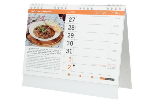 Foto 5 - Kalendář 2022 Nejlepší recepty 22 x 18 cm