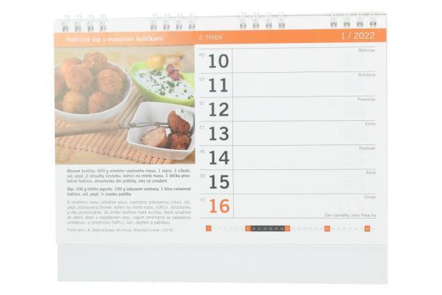 Foto 3 - Kalendář 2022 Nejlepší recepty 22 x 18 cm