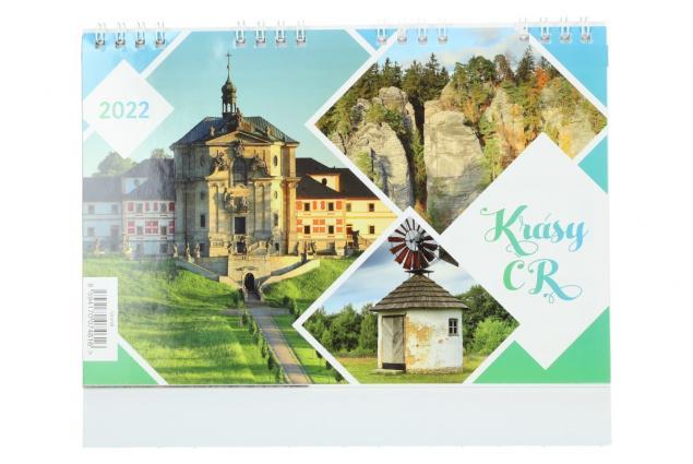 Foto 2 - Kalendář 2022 Krásy ČR 22 x 18 cm