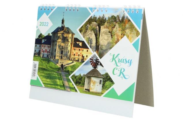 Foto 4 - Kalendář 2022 Krásy ČR 22 x 18 cm