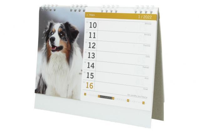Foto 5 - Kalendář 2022 Psi a štěňata 22 x 18 cm