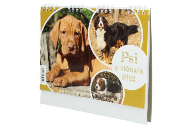 Foto 4 - Kalendář 2022 Psi a štěňata 22 x 18 cm