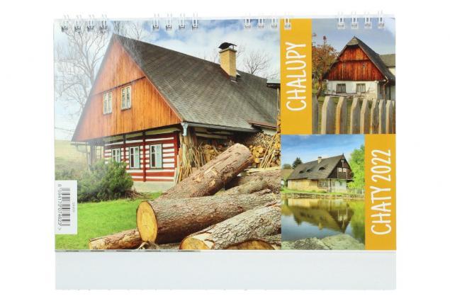 Foto 2 - Kalendář 2022 Chaty a chalupy 22 x 18 cm