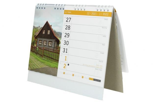Foto 5 - Kalendář 2022 Chaty a chalupy 22 x 18 cm
