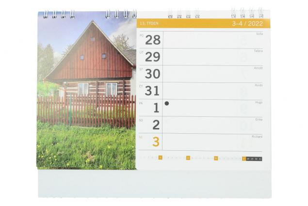 Foto 3 - Kalendář 2022 Chaty a chalupy 22 x 18 cm