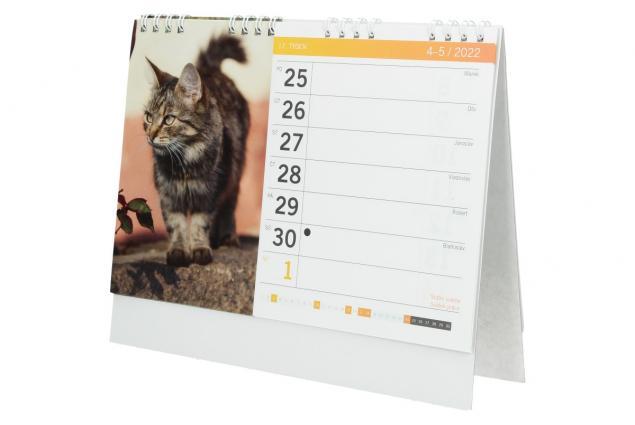 Foto 5 - Kalendář 2022 Čtyřnozí přátelé 22 x 18 cm