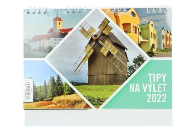 Foto 2 - Kalendář 2022 Tipy na výlety 22 x 18 cm