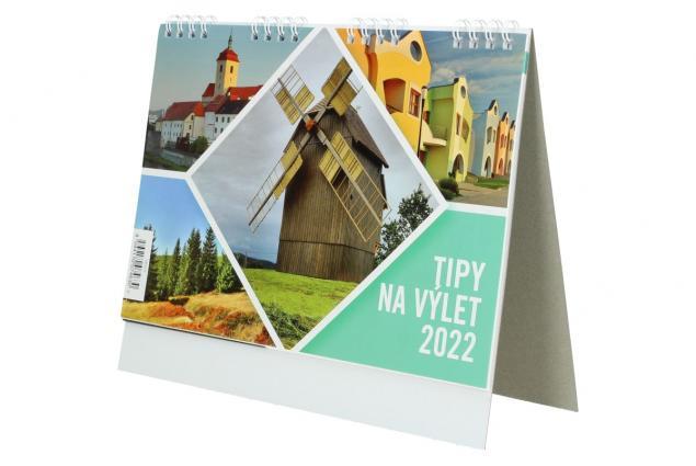 Foto 4 - Kalendář 2022 Tipy na výlety 22 x 18 cm