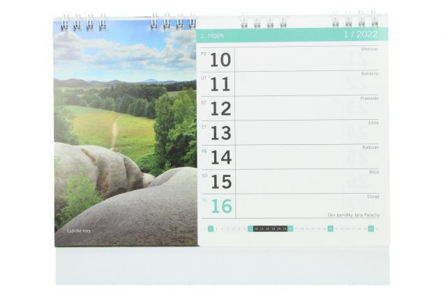 Foto 3 - Kalendář 2022 Tipy na výlety 22 x 18 cm