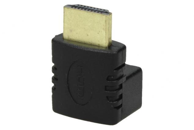 Foto 3 - Redukce HDMI-samice / HDMI-samice 90° YX-3068