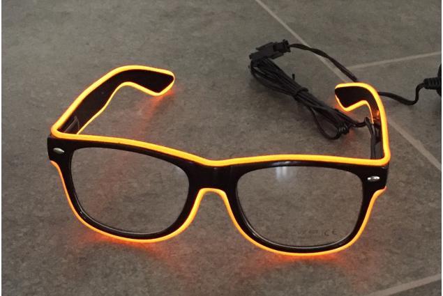 Foto 3 - LED svítící brýle