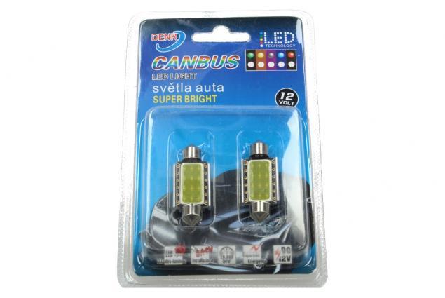 Foto 4 - LED žárovky do interiéru automobilu 12V