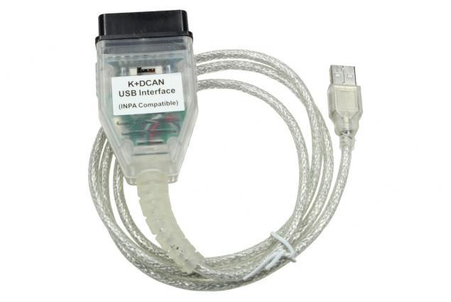 Foto 3 - Diagnostický kabel K+DCAN pro BMW + SW