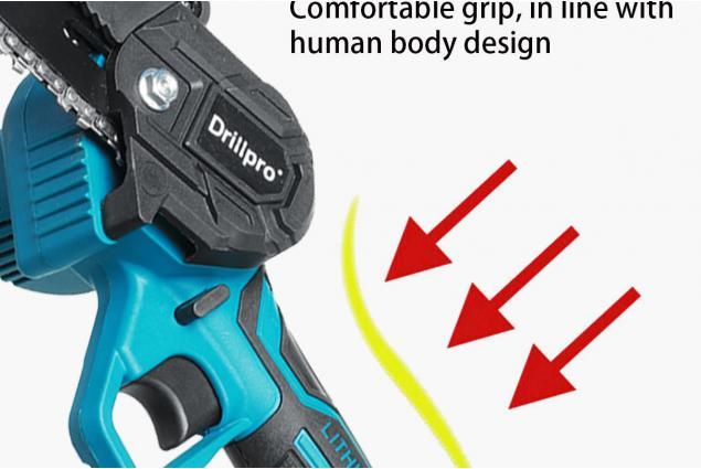 Foto 8 - Akumulátorová ruční pila DrillPro 6 palců včetně 2 x 7500mAh baterie 88Vf 18V