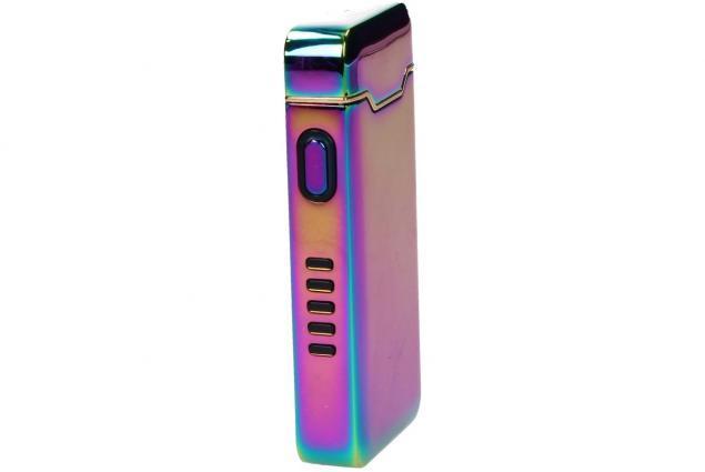 Foto 4 - Plazmový zapalovač duhový s USB 818
