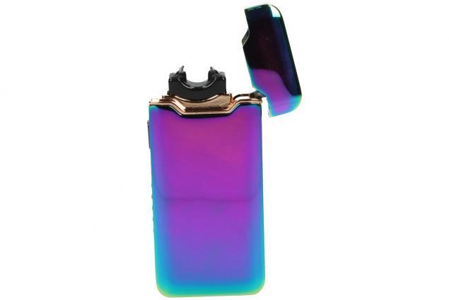Foto 6 - Plazmový zapalovač duhový s USB 818