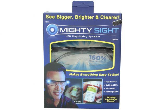Foto 8 - Zvětšovací brýle Mighty Sight s LED osvětlením