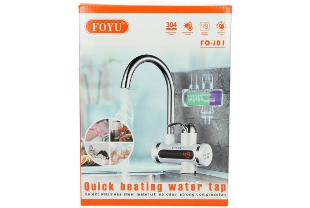 Foto 4 - Průtoková vodovodní baterie stojánková s elektrickým ohřevem vody model FO-J01