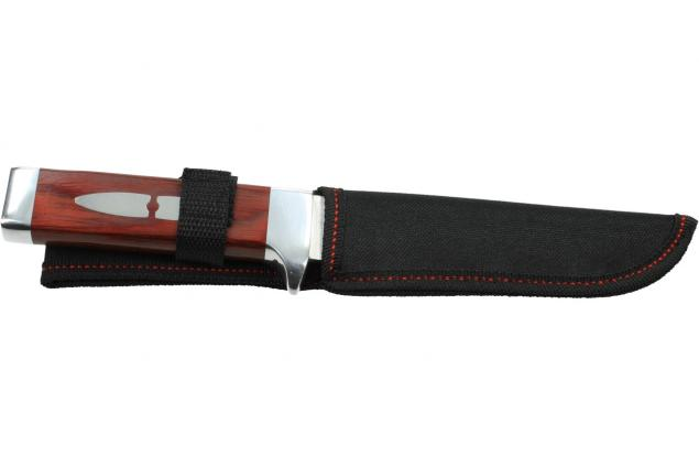 Foto 2 - Hobby lovecký nůž s dřevěnou rukojetí