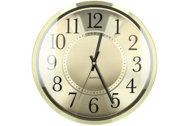 Foto 2 - Ručičkové hodiny HT-1649 zlaté