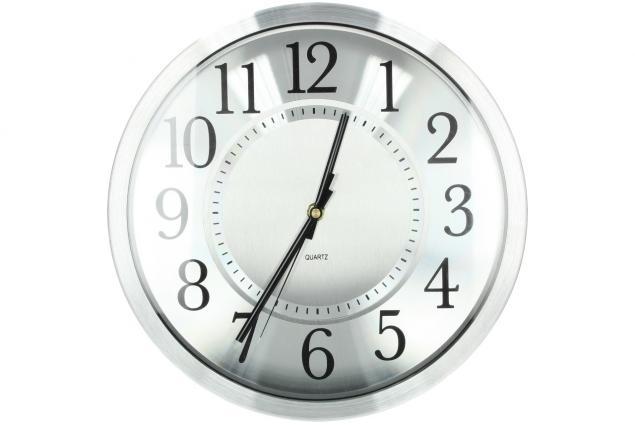 Foto 2 - Ručičkové hodiny HT-1652 stříbrné