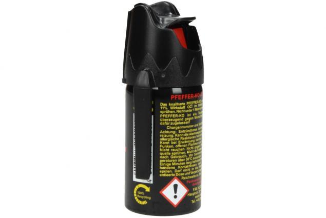 Foto 3 - Obranný pepřový sprej KO JET 40ml černý