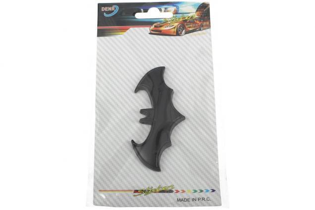 Foto 4 - Kovová samolepka Batman 8 x 3 cm černá