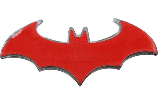 Foto 3 - Kovová samolepka Batman 8 x 3 cm černá