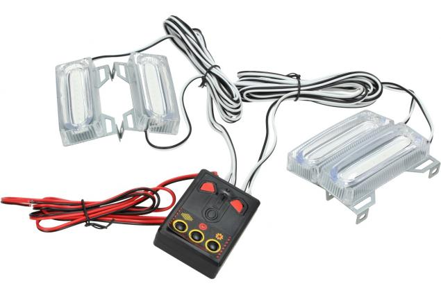 Foto 2 - LED světla pro denní LED-DRL 4ks