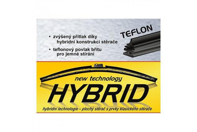 Foto 7 - Stěrač FLAT Hybrid POWER+