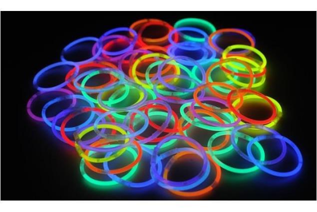 Foto 3 - Svítící náramky - tyčky 50 ks
