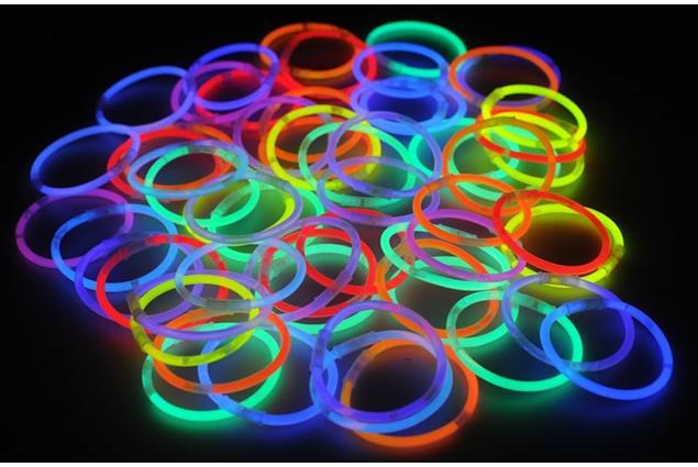 Foto 4 - Svítící náramky - tyčky 50 ks