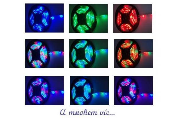Foto 4 - LED pásek RGB 3528 5m na dálkové ovládání