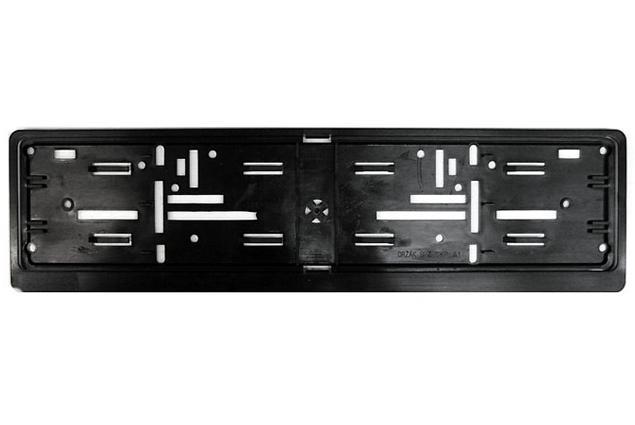 Foto 2 - Tabulka pod SPZ černá