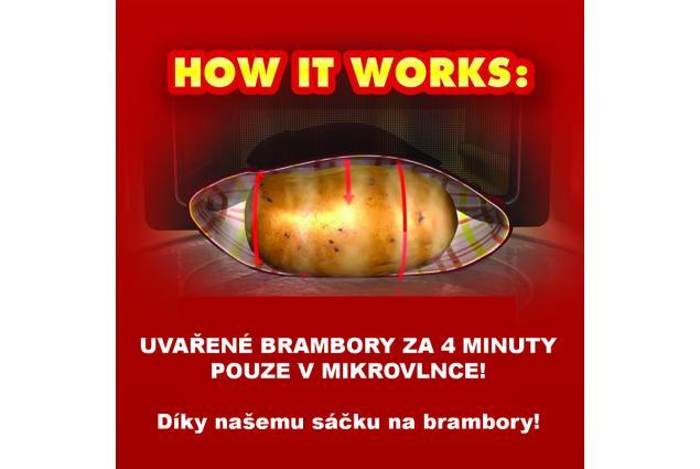 Foto 4 - Sáček na vaření brambor v mikrovlnce
