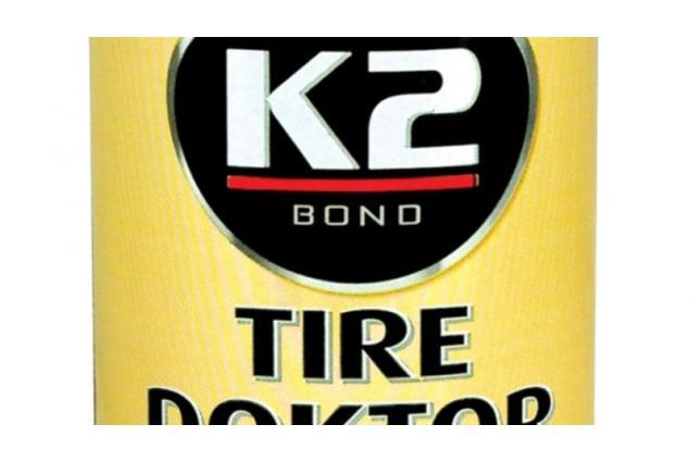Foto 2 - K2 TIRE DOKTOR - Sprej na opravu pneumatik