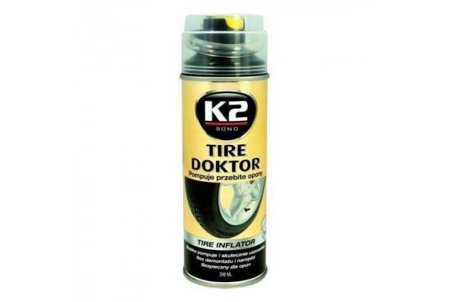 Foto 3 - K2 TIRE DOKTOR - Sprej na opravu pneumatik