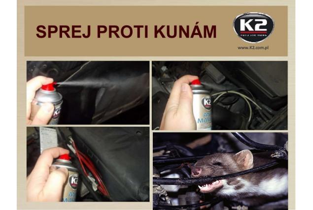 Foto 5 - K2 ANTI MARTEN - sprej proti kunám a kočkám