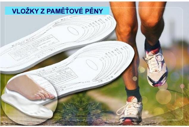 Foto 8 - Vložky do bot z paměťové pěny