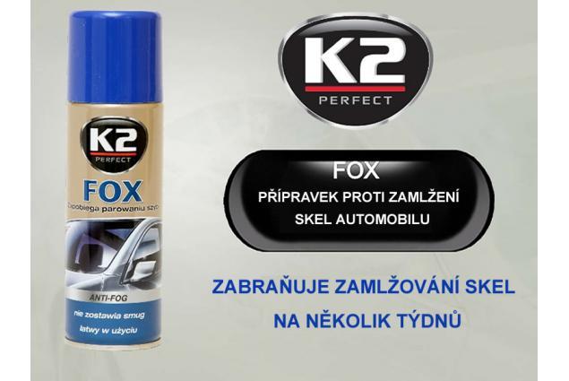 Foto 4 - K2 FOX 200 ml - přípravek proti zamlžování skel